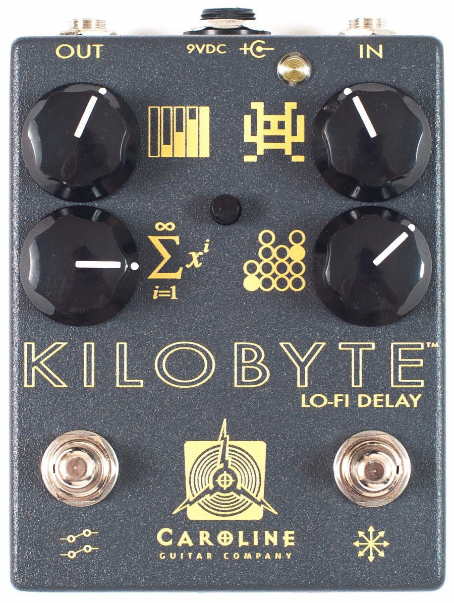 Caroline Guitar Company Kilobyte Lo-Fi Digital Delay - Regent Sounds