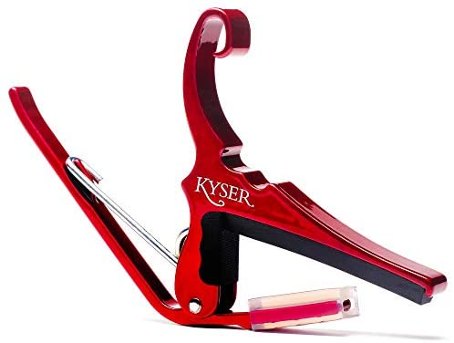Kyser Quick Change Capo Red - Regent Sounds