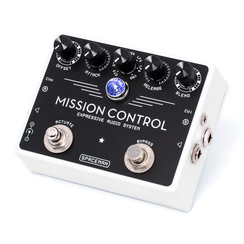Spaceman Mission Control White