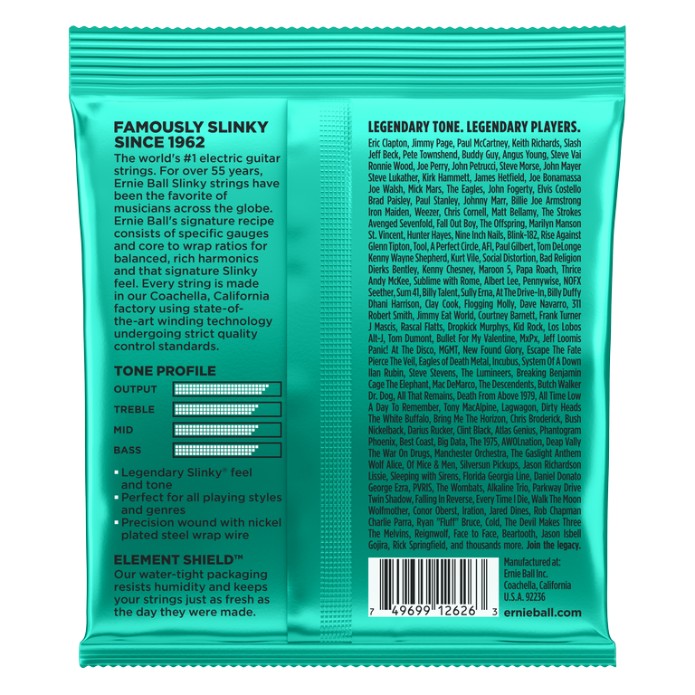 Ernie Ball Not Even Slinky 12-56 - Regent Sounds