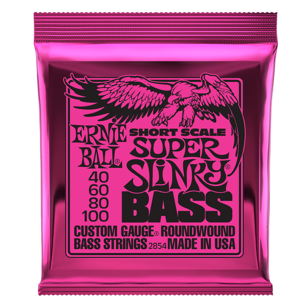 Ernie Ball Short Scale Super Slinky Bass 40-100
