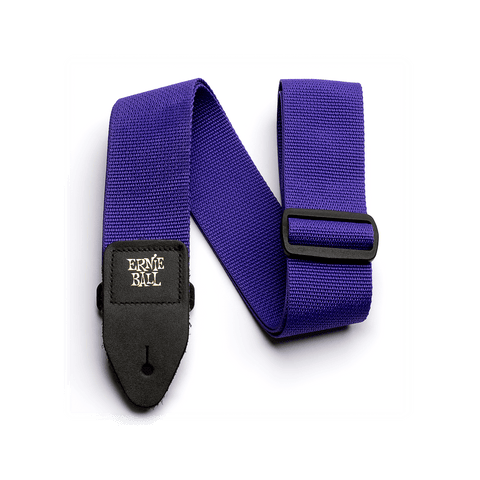 Ernie Ball Poly Strap Purple - Regent Sounds