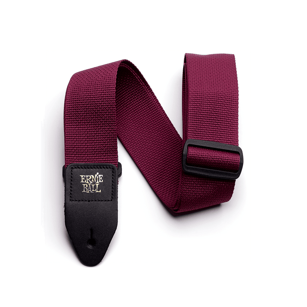Ernie Ball Nylon Strap Burgundy - Regent Sounds