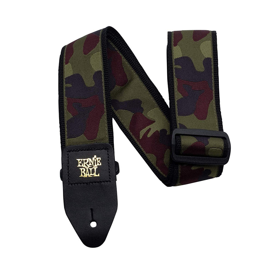 Ernie Ball Jacquard Strap Traditional Camo - Regent Sounds