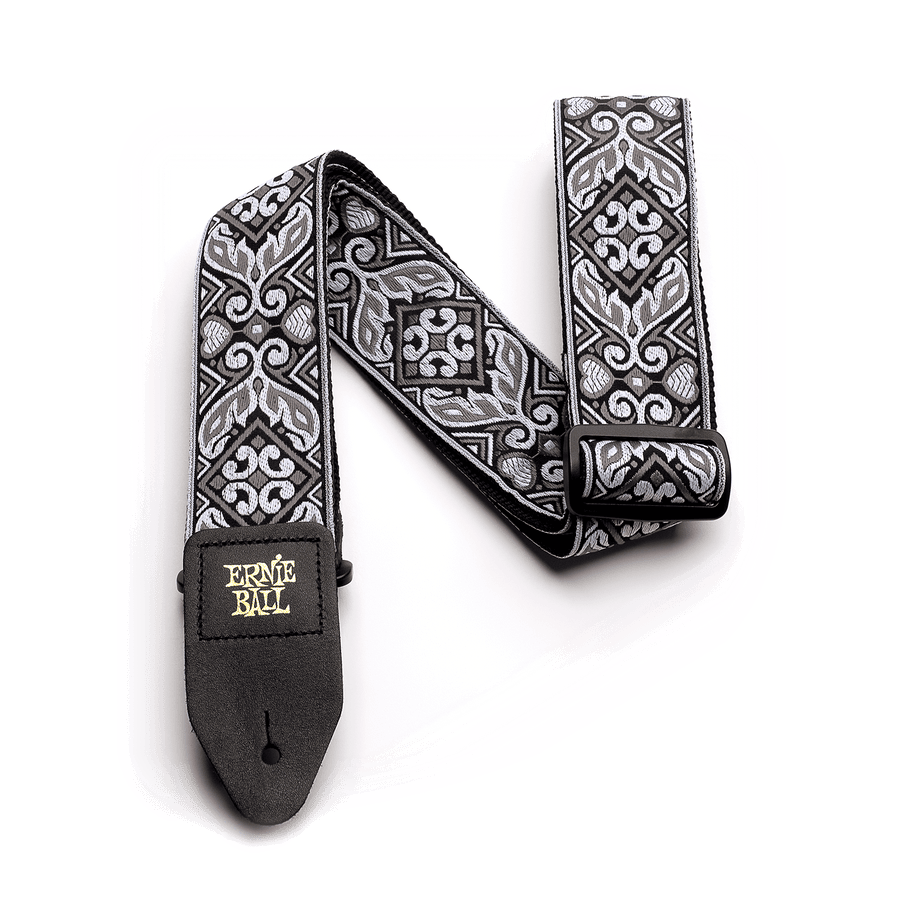 Ernie Ball Jacquard Strap Tribal Silver - Regent Sounds