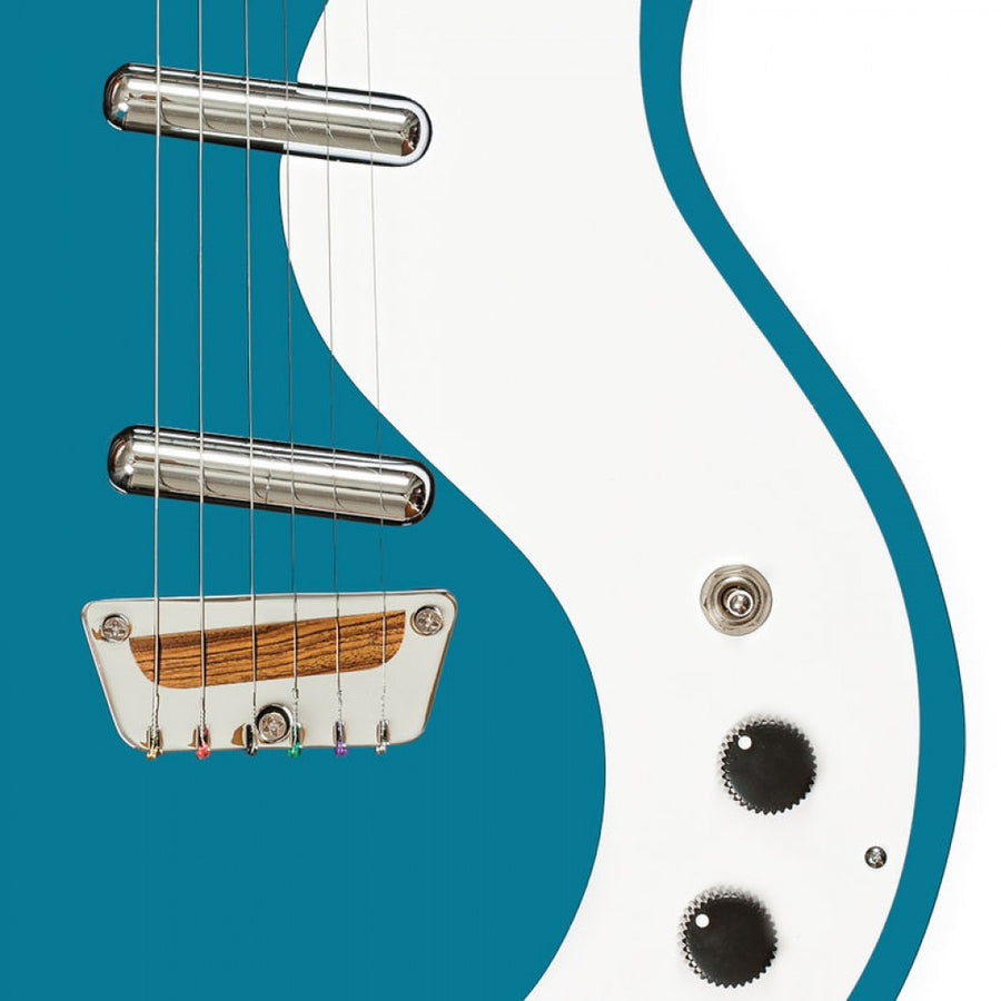 Danelectro 'The Stock' 59 Aquamarine - Regent Sounds