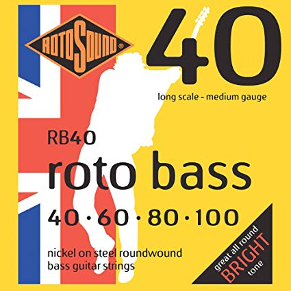 Rotosound RB40 Bass Guitar Strings 40-100 - Regent Sounds