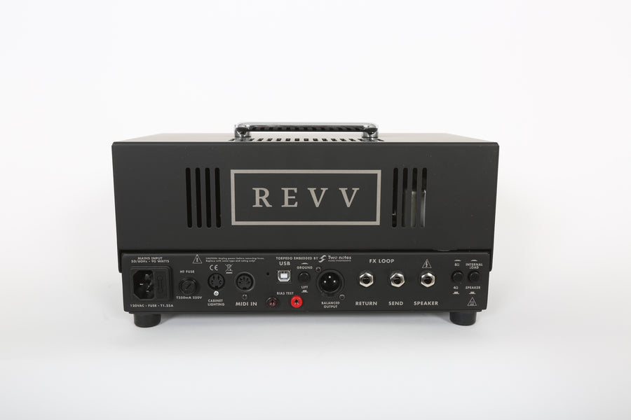 Revv D20 20w Tube Head - Regent Sounds