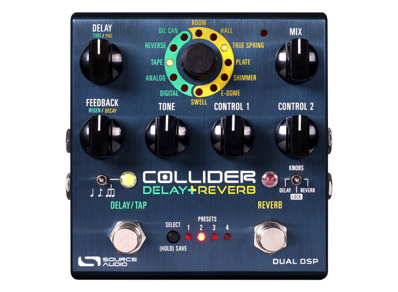 Source Audio Collider Delay and Reverb - Regent Sounds