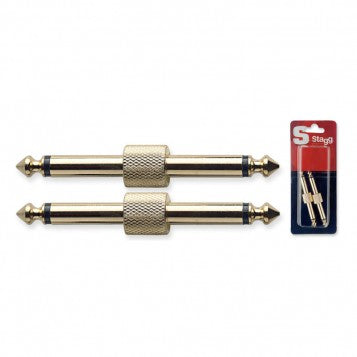 Stagg AC-PPH Unbalanced Male Jack Coupler - Regent Sounds