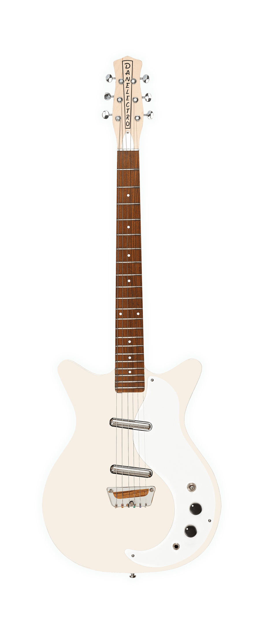 Danelectro 'The Stock' 59 Vinateg Cream - Regent Sounds
