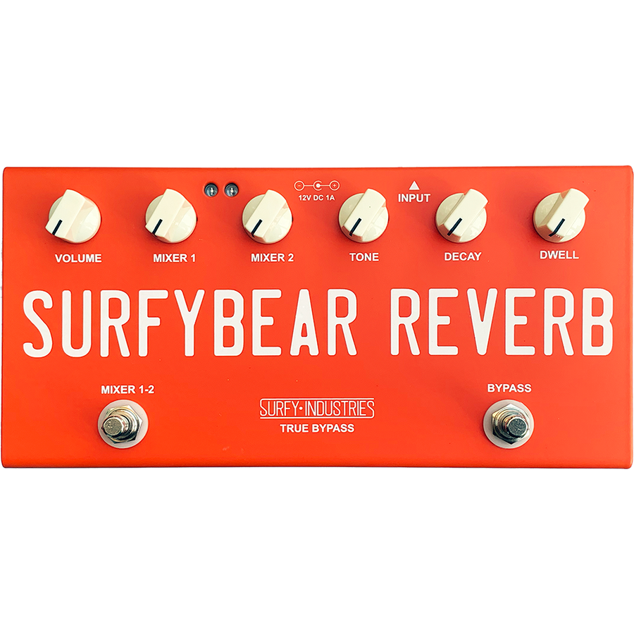 Surfy Industries SurfyBear Compact Fiesta Red V1.1 - Regent Sounds