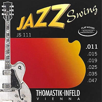 Thomastik JS111 Jazz Swing Flat Wound Strings 11-47 - Regent Sounds