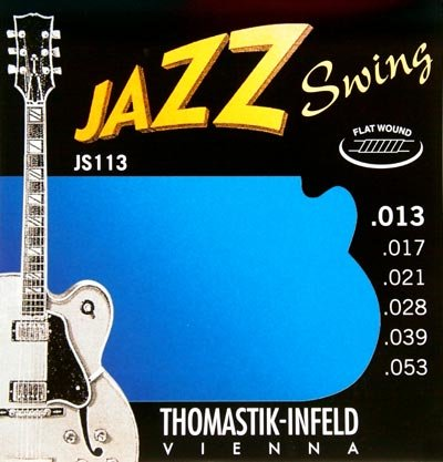 Thomastik JS113 Jazz Swing Flat Wound Strings 13-53 - Regent Sounds