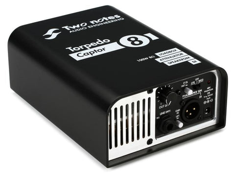 Two Notes Torpedo Captor 8 Ohm Compact Loudbox