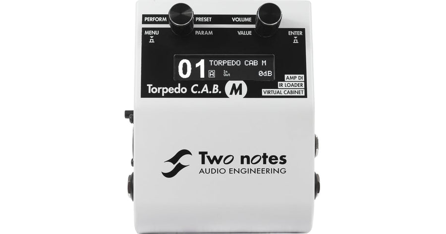 Two Notes Torpedo C.A.B.M Cab Simulator - Regent Sounds