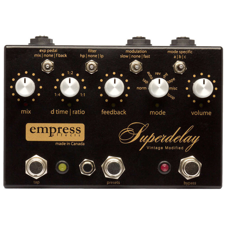 Empress Effects Vintage Modified Superdelay - Regent Sounds