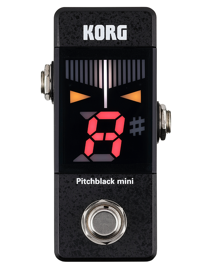 Korg Pitchblack Mini Tuner Pedal - Regent Sounds