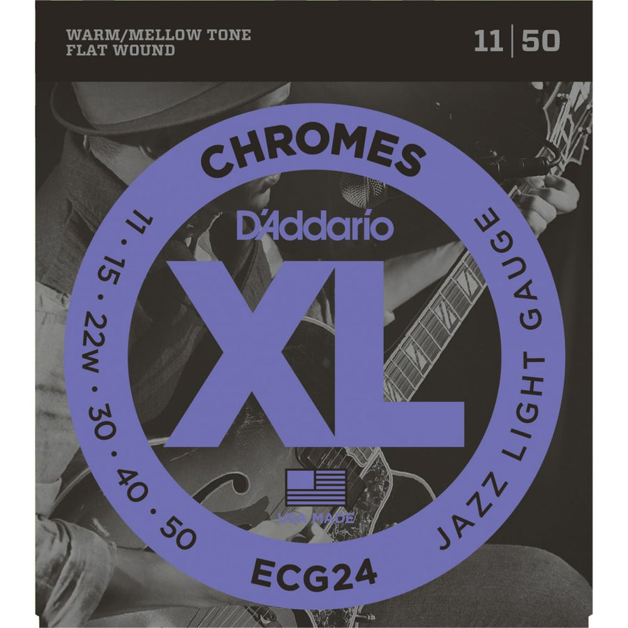 D'Addario ECG24 Chromes 11-50 - Regent Sounds