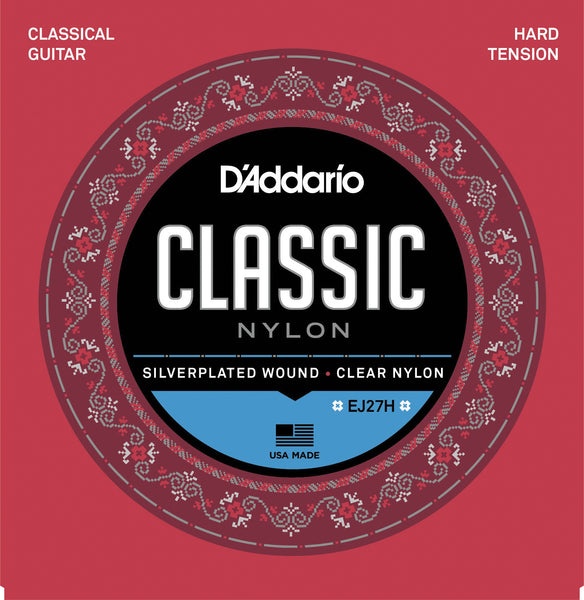 D'Addario EJ27H Classical Hard Tension - Regent Sounds