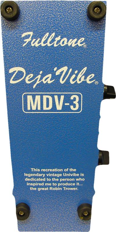 Fulltone Custom Shop MDV-3 V2 - Regent Sounds