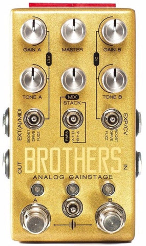 Chase Bliss Audio Brothers Analogue Gainstage Drive Pedal