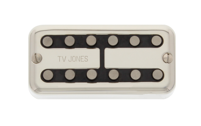 TV Jones Magna'Tron Universal Mount Nickel Bridge - Regent Sounds
