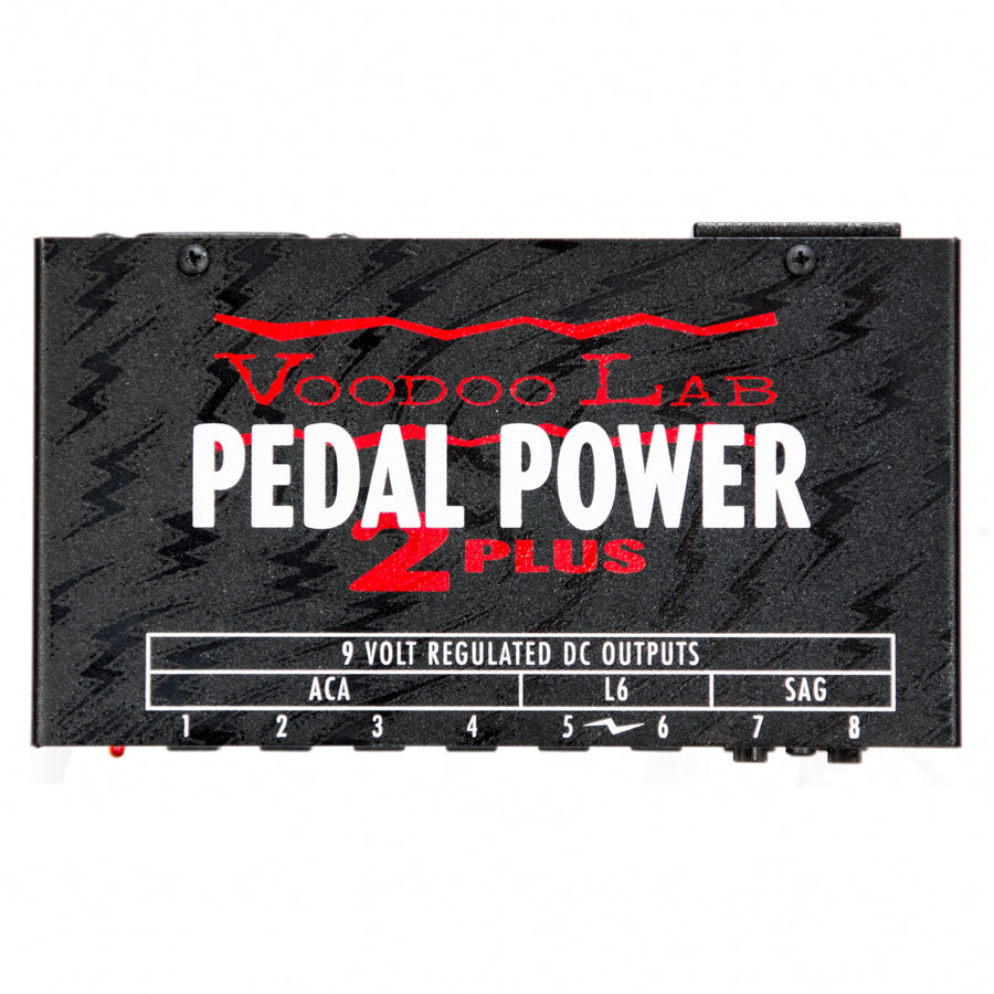 Voodoo Lab Pedal Power 2 Plus Pedal Board Power Supply - Regent Sounds