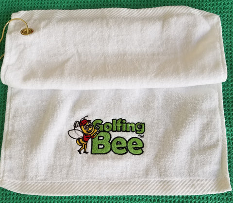 Golfing Bee Towel
