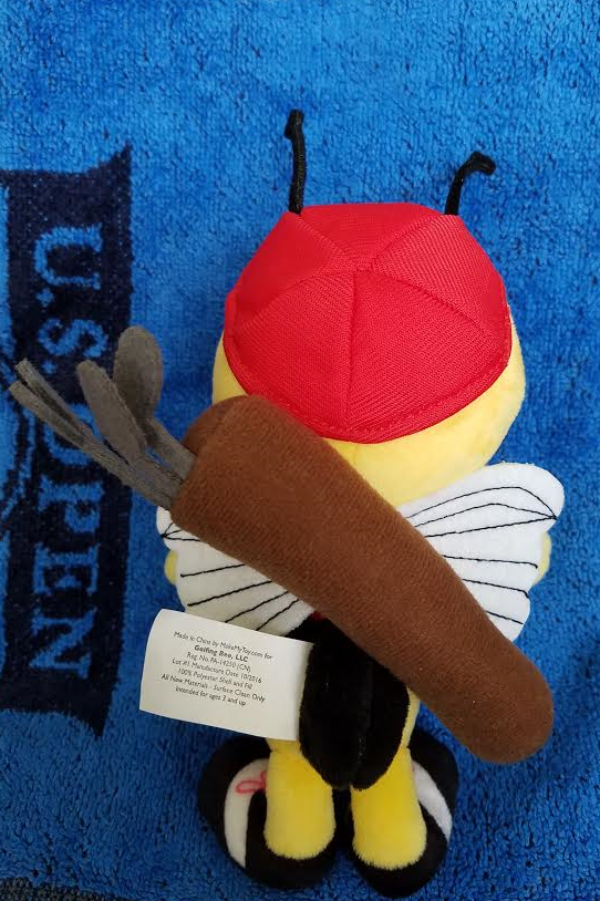 Wendell the Golfing Bee Plush Toy