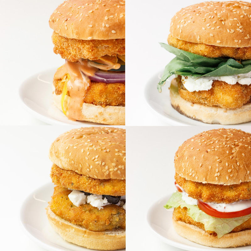 4 Ways to Double Fish Burger