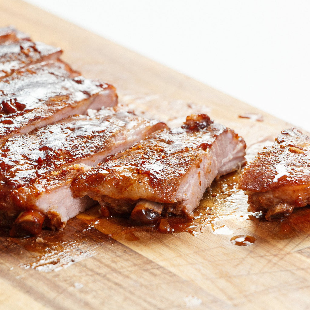 Barbecued Oven Ribs