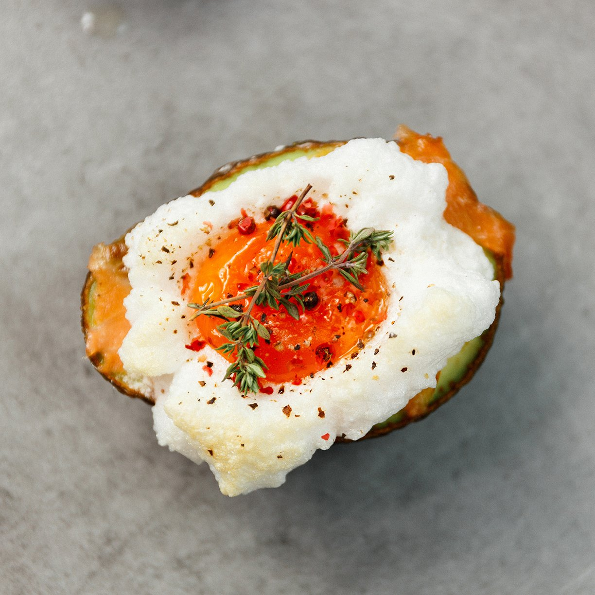 Stuffed Avocados with Salmon Devil Eggs