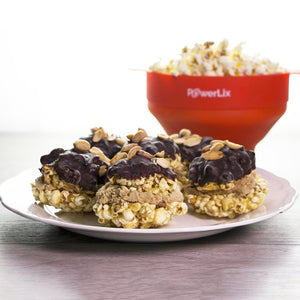 Ice Cream Popcorn Burger