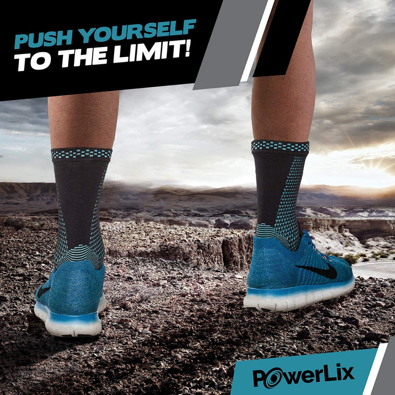 PowerLix Ankle Compression Braces