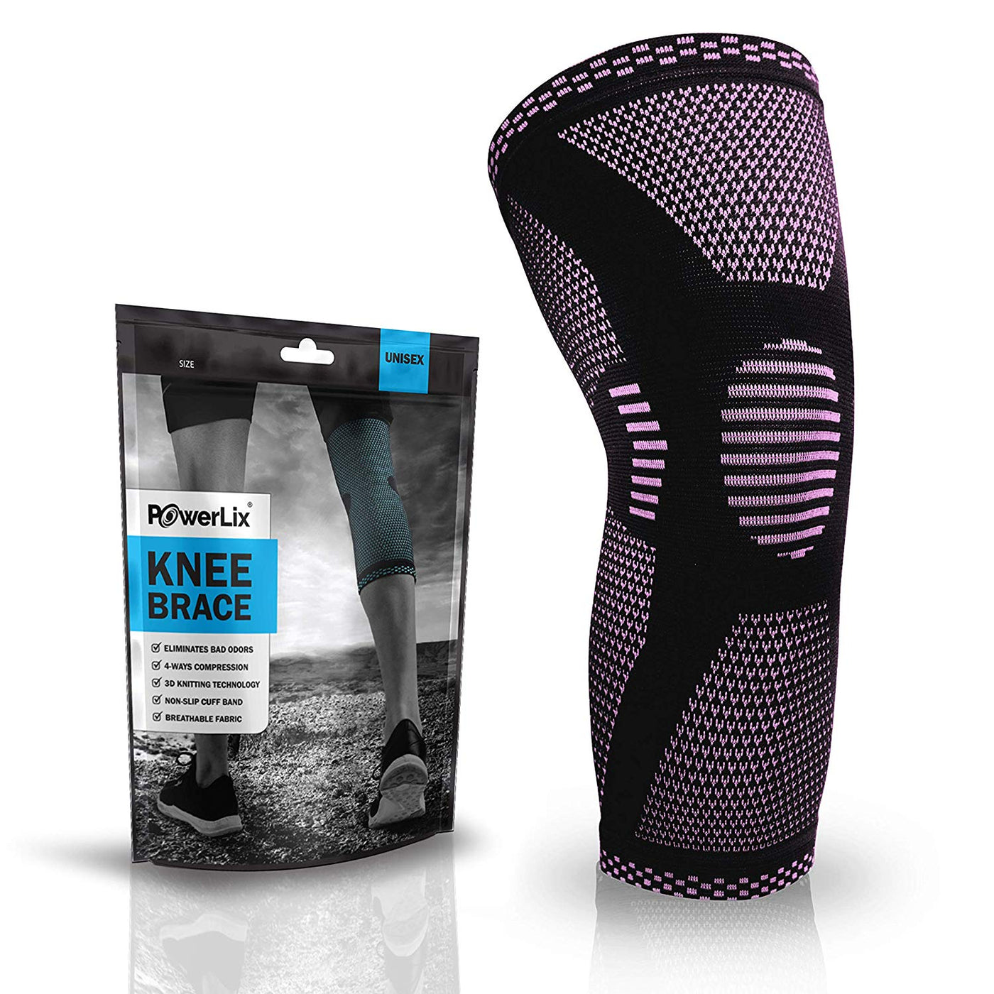 a20766ace7 PowerLix™ | Compression Knee Sleeve 2019 Designs | PowerLix