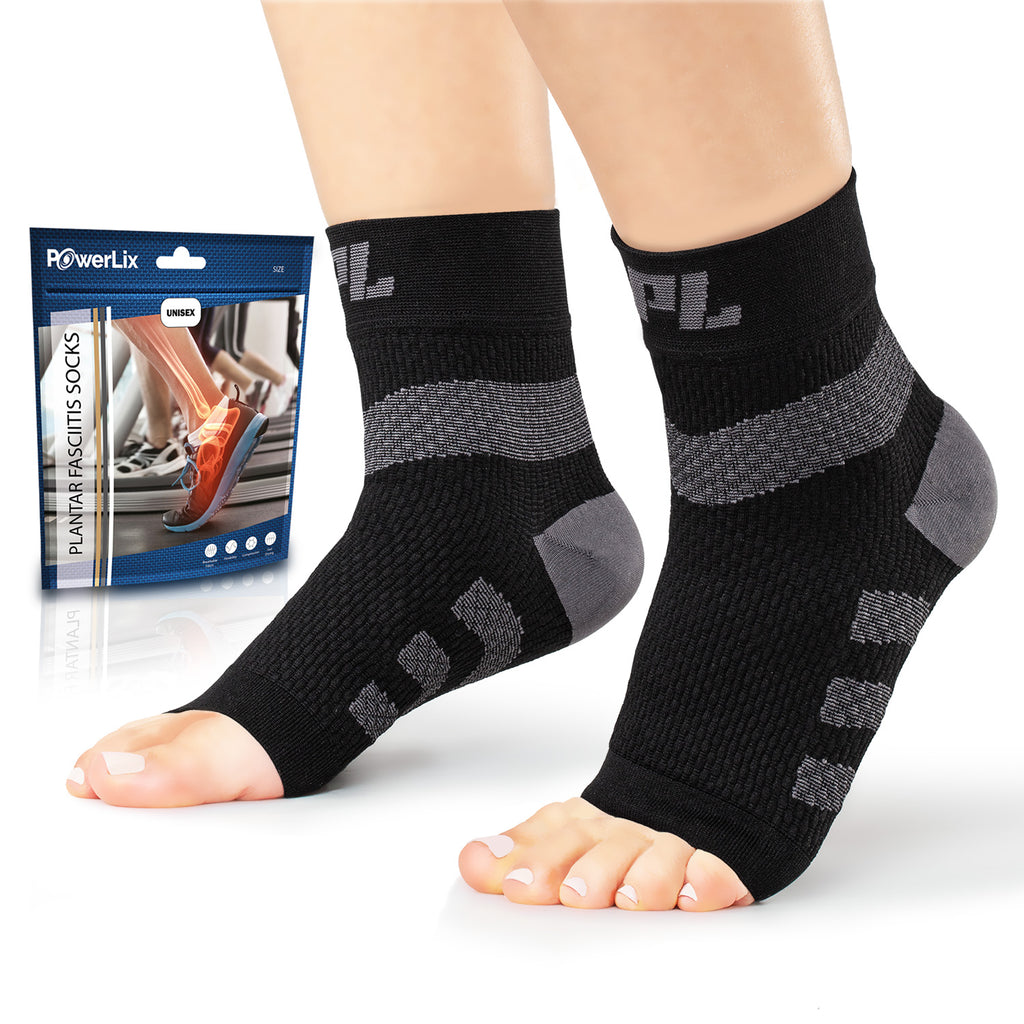 Powerlix Plantar Fasciitis Support Socks 2020 Designs