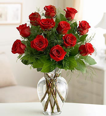 12 Long Stem Red Roses - OOS - Florists.com