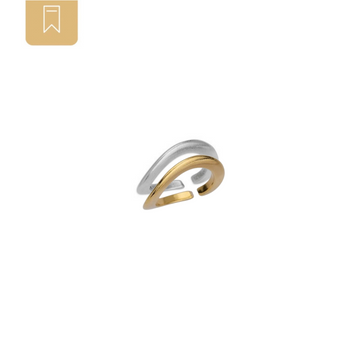 Little Wave Combo Ring Set