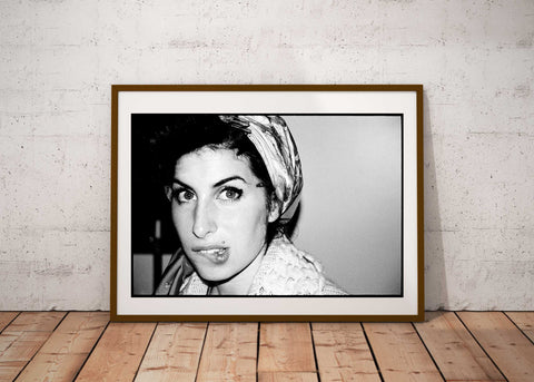 """Curlers At The Ritz NYC"" - Amy Winehouse 16x 20 C41 photographic archival print"