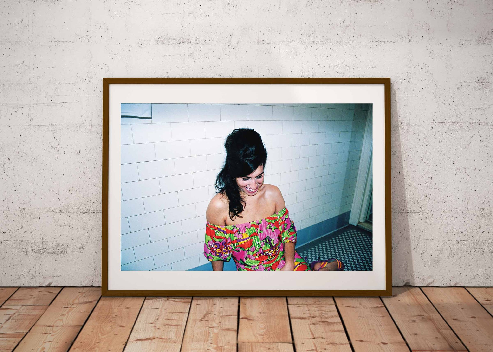 """On the Floor at The Ritz NYC""- Amy Winehouse 16x 20 C41 photographic archival print"