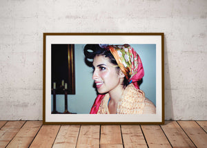 """Curlers at the Ritz NYC - 2""- Amy Winehouse 16x 20 C41 photographic archival print"