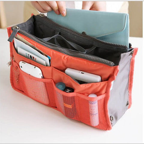 Multi-Functional Cosmetic Makeup Organizer Storage Bag