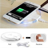 Qi Wireless Power Charger + receiver kit for iPhones