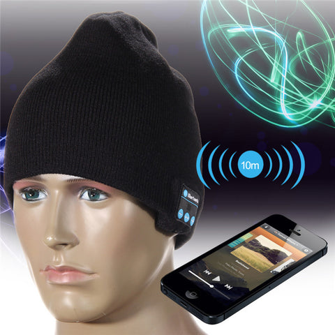 Bluetooth Hat Wireless Stereo Noise Cancelling Headphone