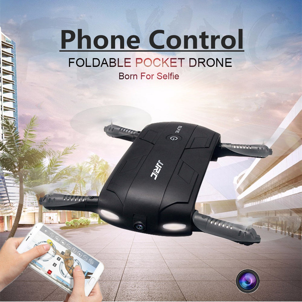 Foldable Pocket Selfie Drone With Camera Wifi