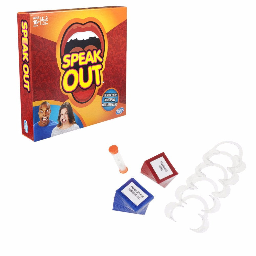 Speak Out Party Game For Christmas Gift Newest Best Selling Toy