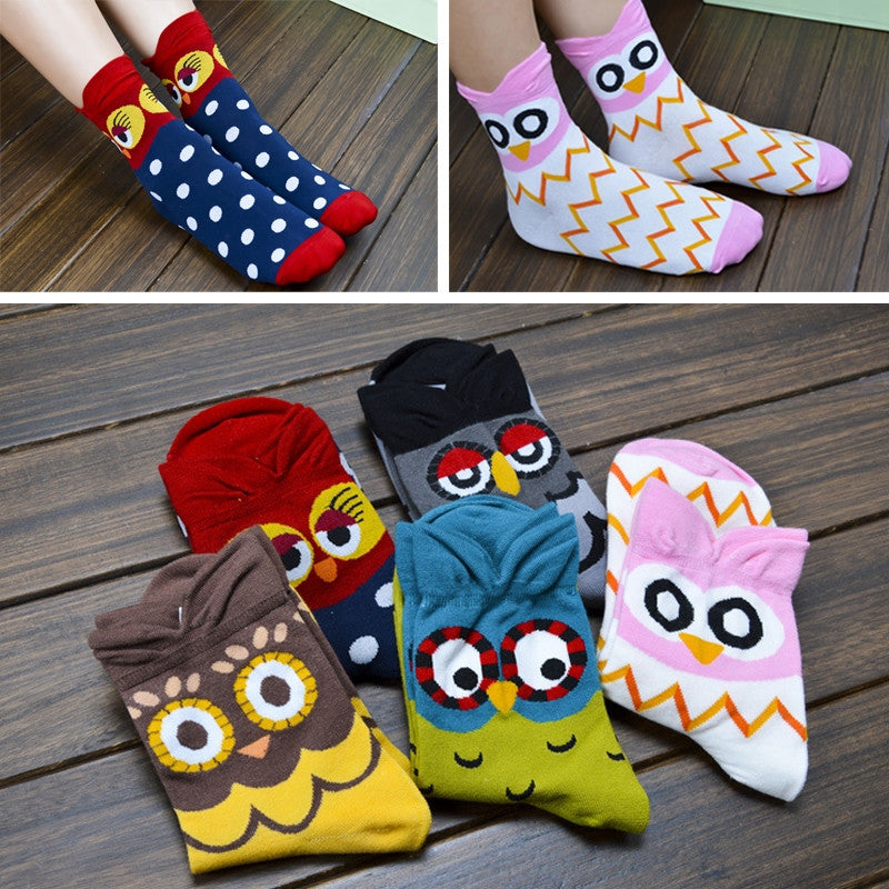 Owl Prints Socks
