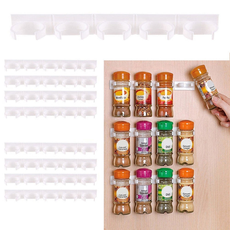 Spice Hooks, Wall Rack Storage