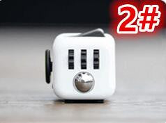 Stress Relief and Focusing Fidget Cube for ADHD Kids, Adults - Color White & Yellow - Free Shipping